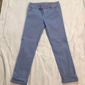 Tory Burch Super Skinny Light Blue Pants